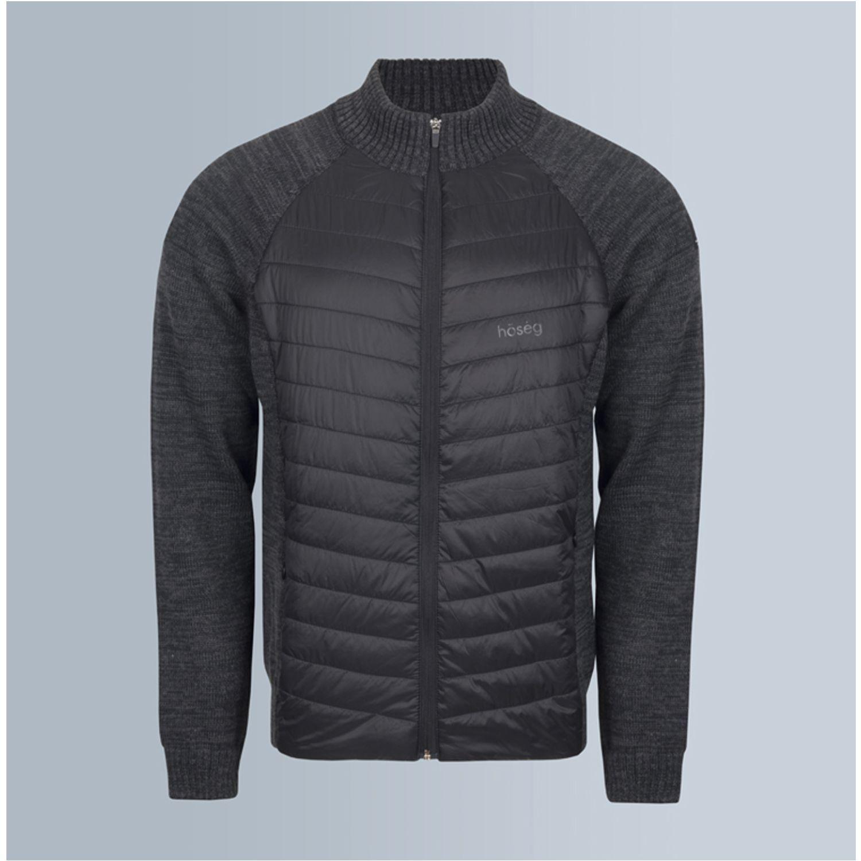 Hoseg casaca hybrid charcoal hombre CHARCOAL Algodón