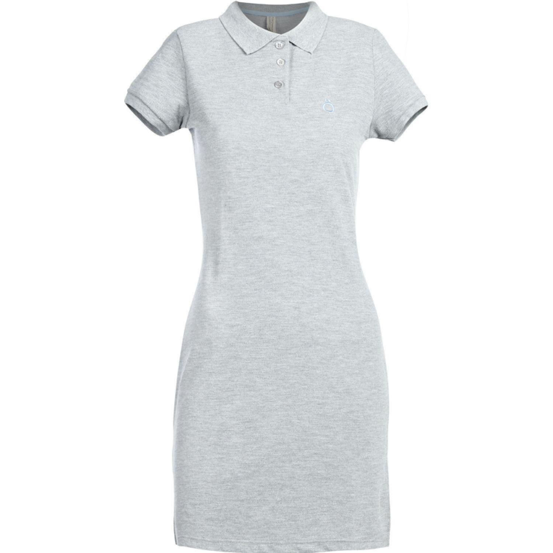 Hoseg vestido pique celeste mujer MELANGE/ CELESTE Casual