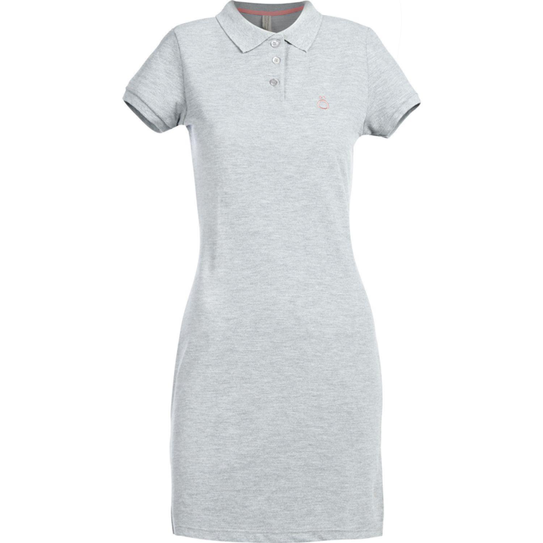 Hoseg vestido pique coral mujer MELANGE/CORAL Casual