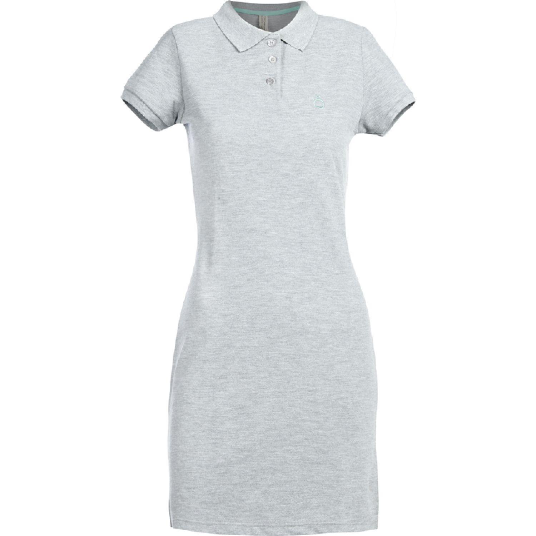 Hoseg vestido pique aqua mujer MELANGE/VERDE AGUA Casual