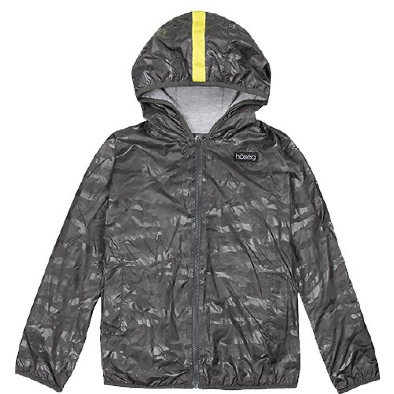 Hoseg Casaca Park Ranger Grey Kids GRIS Ropa para lluvia
