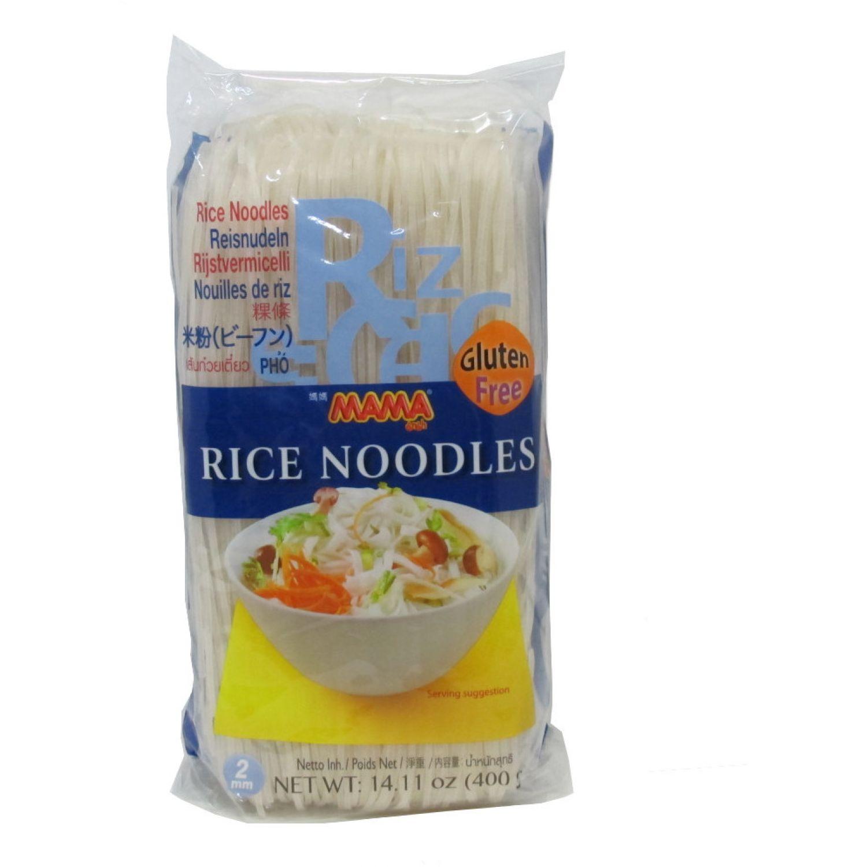 MAMA Fideo De Arroz 2mm 400g SIN COLOR Fideos de arroz