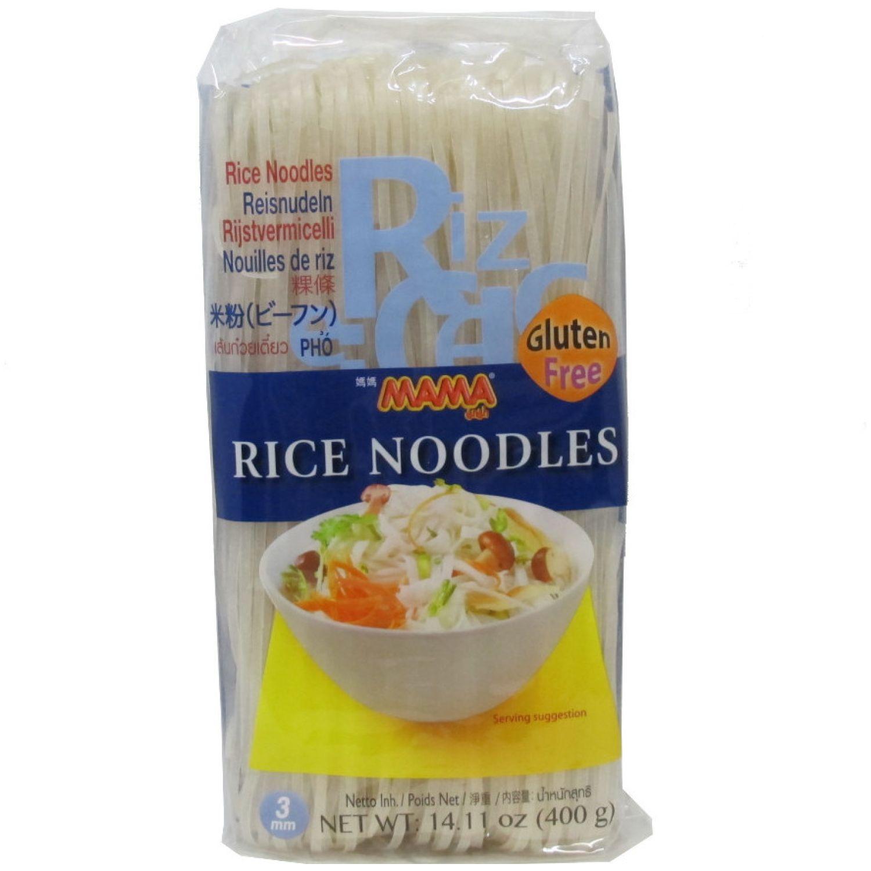 MAMA Fideo De Arroz 3mm 400g SIN COLOR Fideos de arroz
