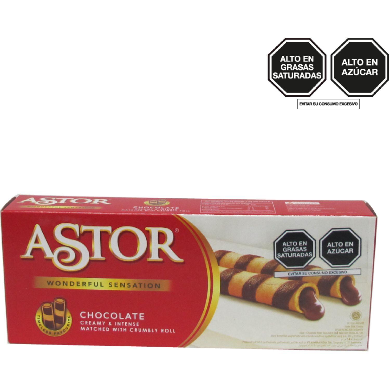 STICK/ASTOR Wafer Barquillo Chocolate 150g Caj 0 Aperitivos