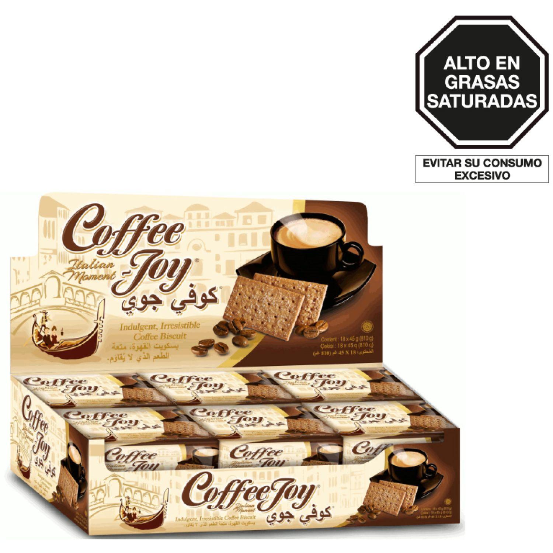 MAYORA Galleta De Café Joy Biscuit 45g Bol 0 Pasteles de arroz, patatas fritas y galletas