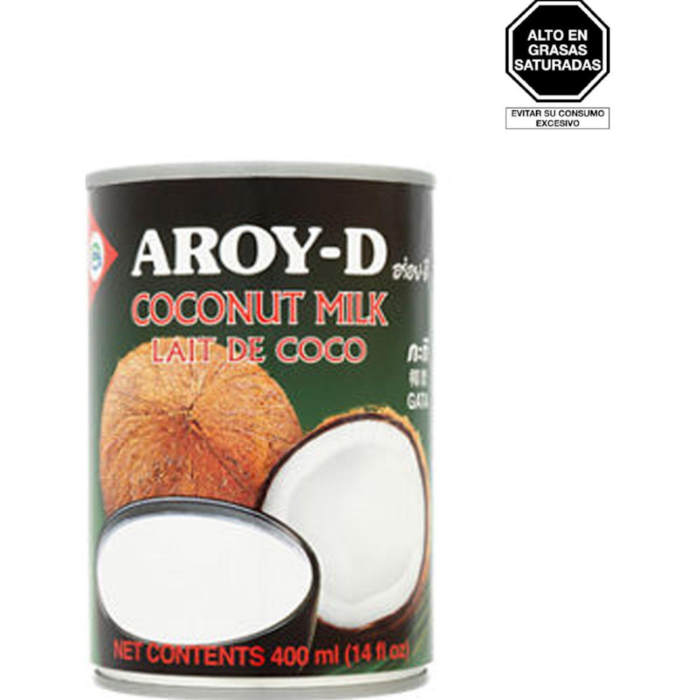 AROY-D Leche Coco 400ml Lat Sin color Sustitutos de la leche