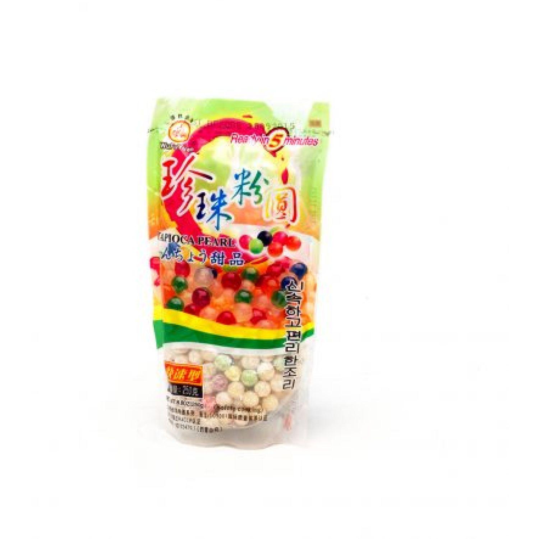 WUFUYUAN Tapioca Sey Mei Luo Colores 250g Bol 0 Café, té y cacao