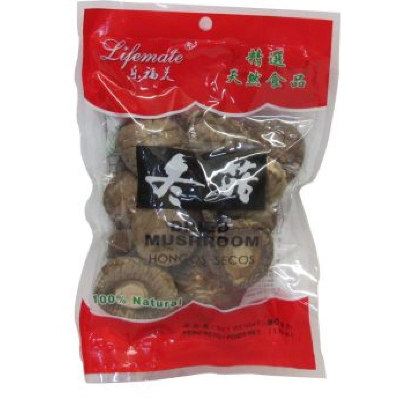 LIFEMATE FB Hongo Shitake 4-4.5cm 50g Bol 0 Frutas secas