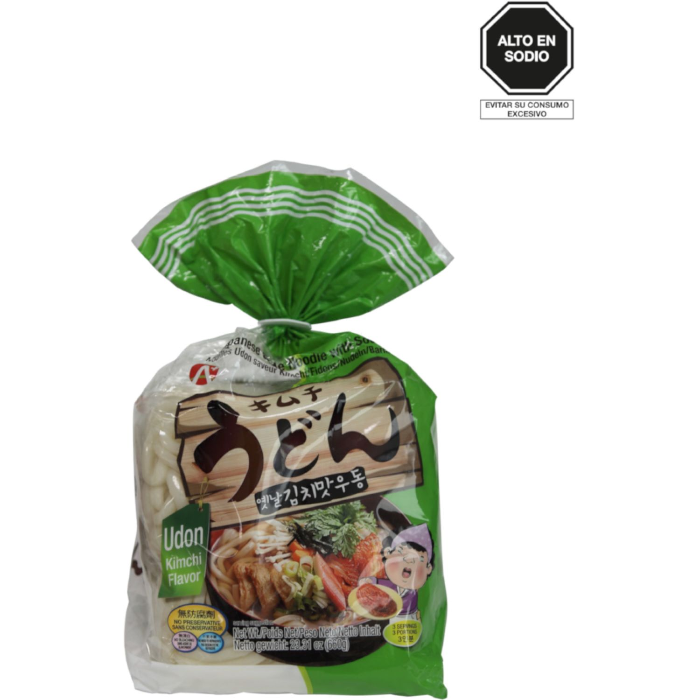 A+ Fideo Udon C/Sabor A Kimchi  3x220g Paq 0 Fideos udon