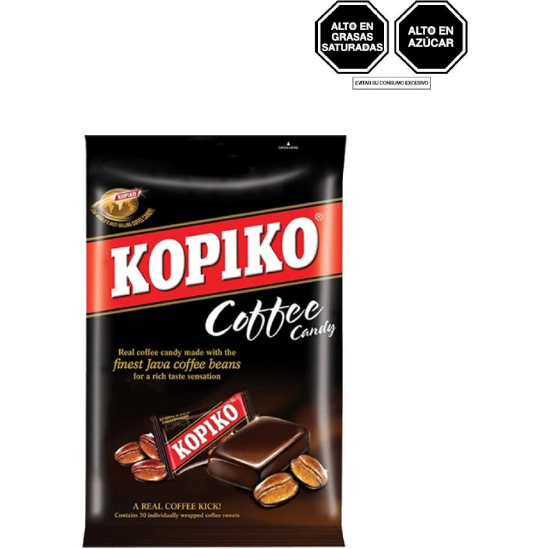 KOPIKO CARAMELO CAFE 120G BOL 0 Caramelos de goma y caramelos de goma