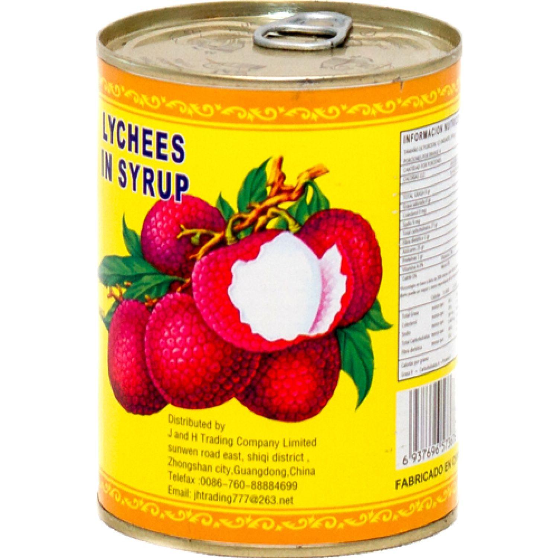 KINGMAX Conserva Lychee 567g/Drenado 230gr 0 Frutas