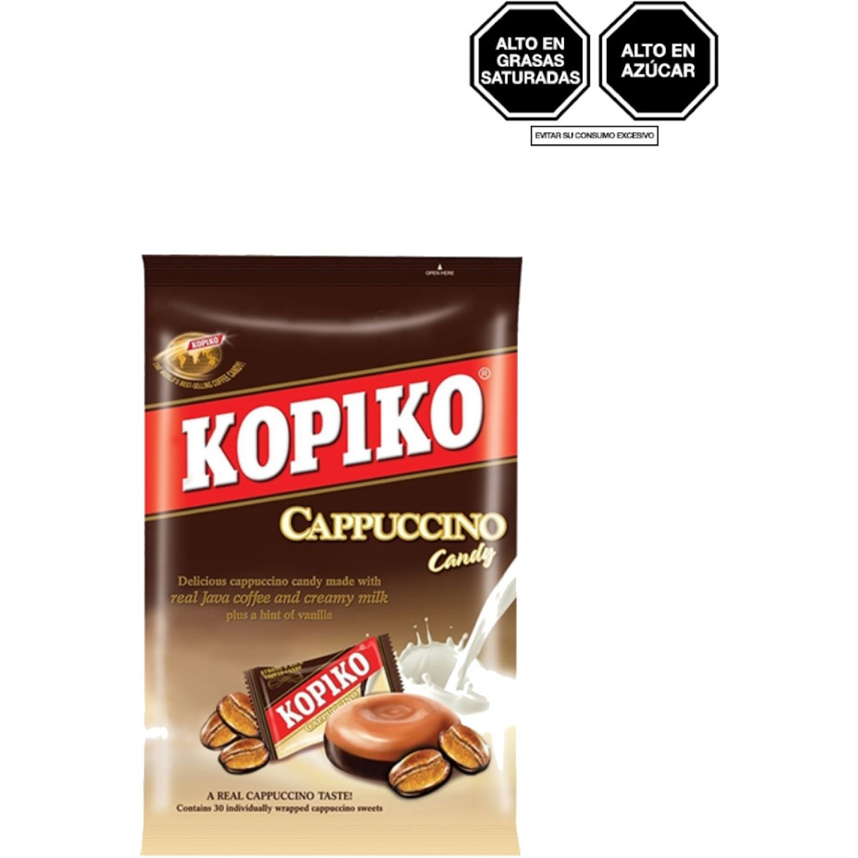 KOPIKO Caramelo Cappuccino 120g Bol 0 Gomitas y grageas