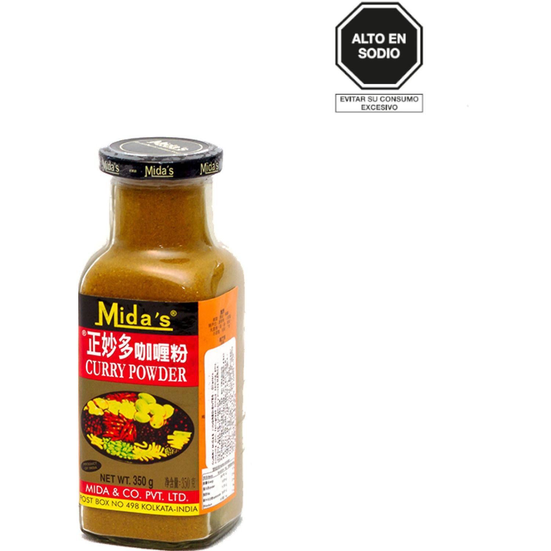 MIDAS MIDAS CURRY EN POLVO 350G FRA SIN COLOR Polvo de curry