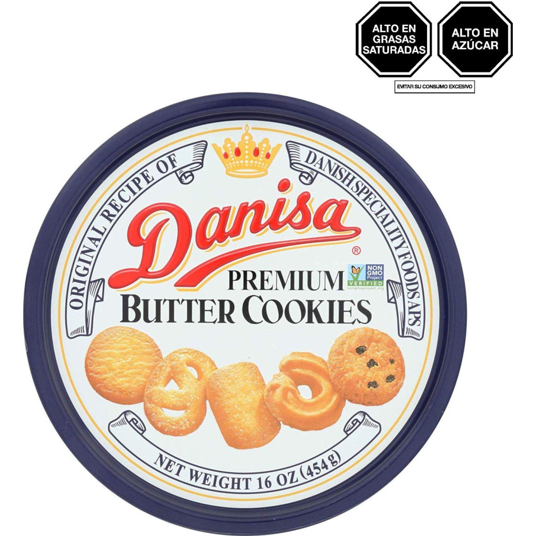 DANISA Danisa Galleta De Mantequilla Tradicional 454g Lat SIN COLOR Pasteles de arroz, patatas fritas y galletas