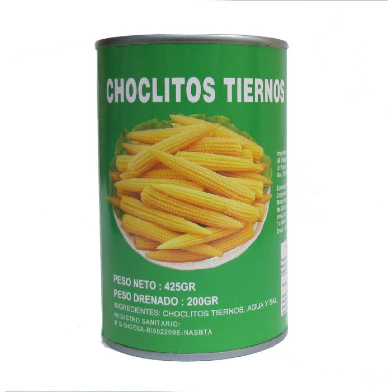 KINGMAX Choclito Baby Corn 425g Lat SIN COLOR Maíz