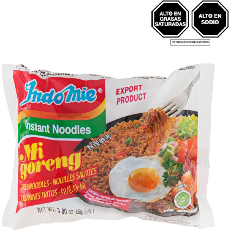 INDOMIE Fideos Fritos Inst. 85g Sob SIN COLOR Sopas, guisos y chile