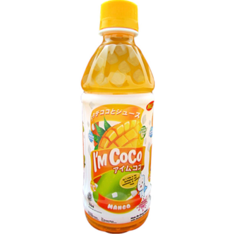 I'M COCO Bebida C/Mango 350ml Bot SIN COLOR Agua de coco