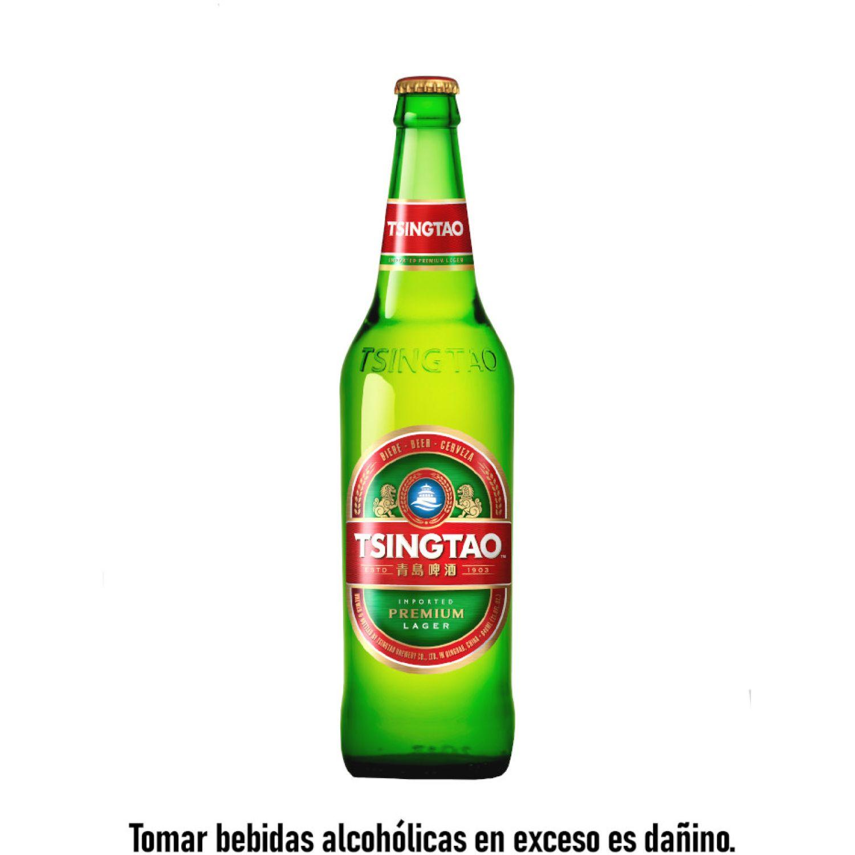 TSINGTAO cerveza clara 640ml bot SIN COLOR Cerveza