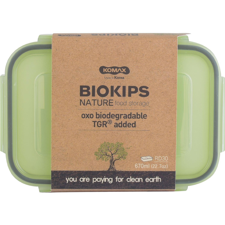 KOMAX BIOKIPS NATURE RD30 670ML SIN COLOR Protectores de alimentos y contenedores de almacenamiento