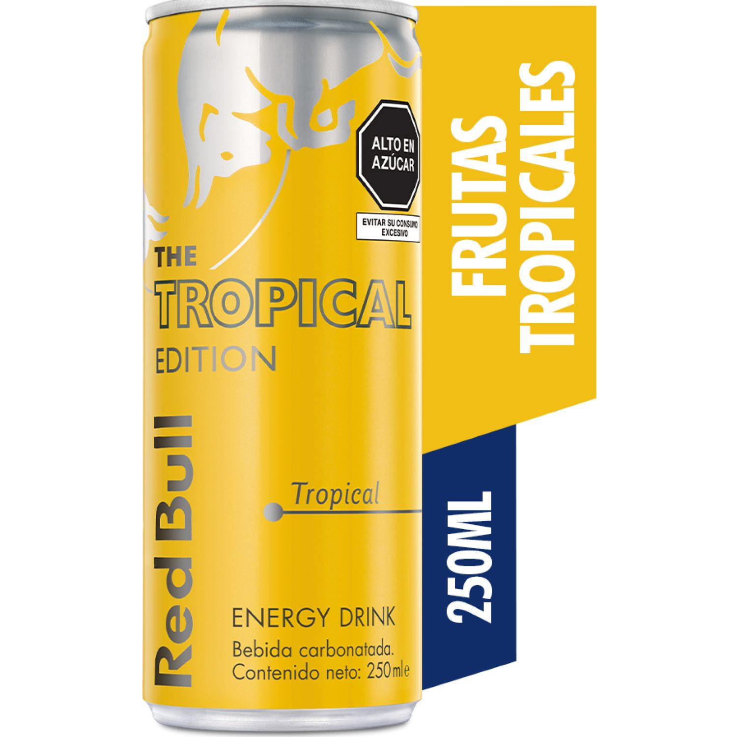 RED BULL Energy Drink Tropical 250ml Lat SIN COLOR Bebidas energizantes