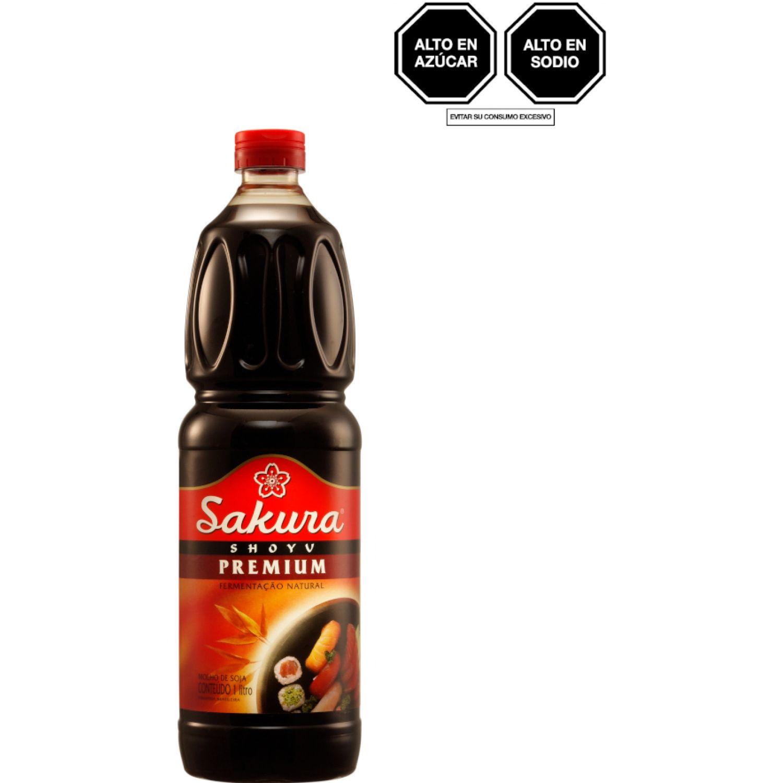 SAKURA Salsa Soya Premium Sin Gluten 1l Bot SIN COLOR Salsa de soja