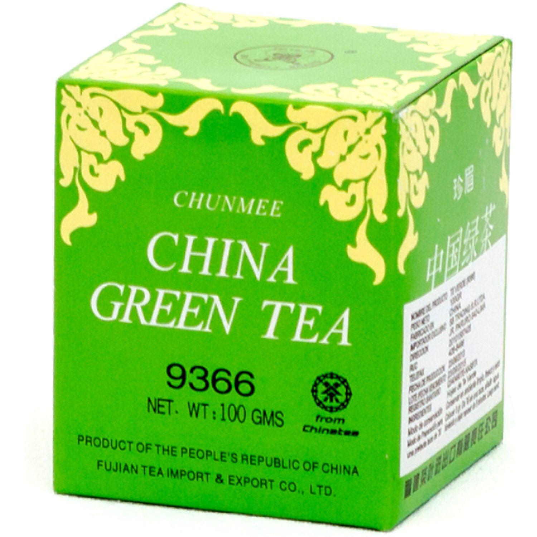 CHUN MEE Chun Mee  Te Verde 9366 100g Caj SIN COLOR Té