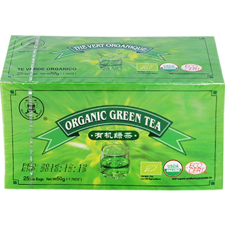 BUTTERFLY Te Verde Filt. Organico 25 Sobres Caj SIN COLOR Té