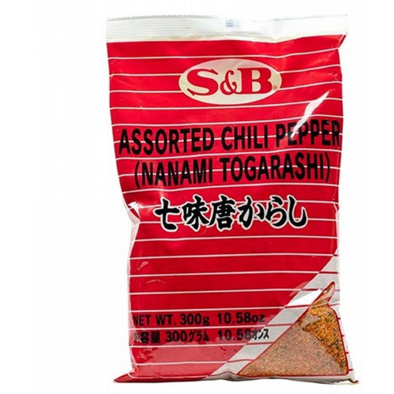 S&B S&B SHICHIMI TOGARASHI 10.5 OZ. 300 GR SIN COLOR Hierbas, especias y condimentos regalos