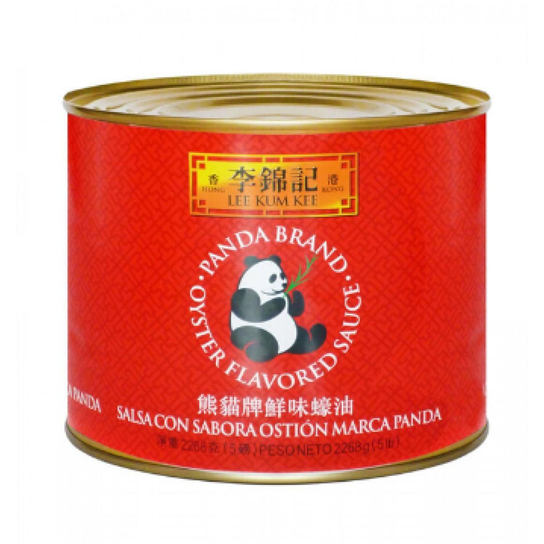 LEE KUM KEE Salsa Ostion 5 Lb (2.26 Kg) Panda Lkk SIN COLOR Salsa de ostras