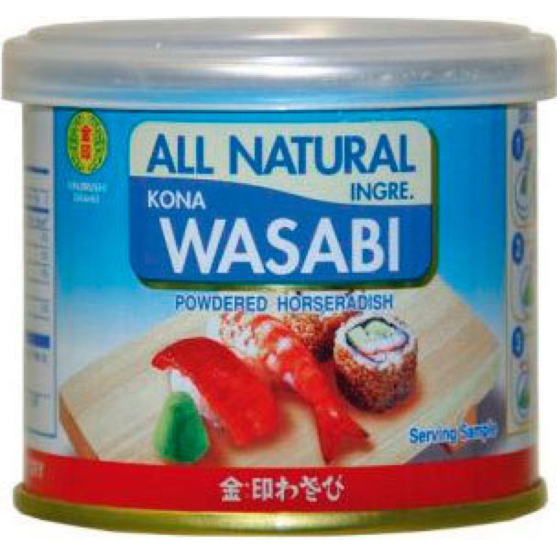 KINJIRUSHI Kin Wasabi Ko,Natural 0.88 Oz #G-69 SIN COLOR Wasabi en polvo