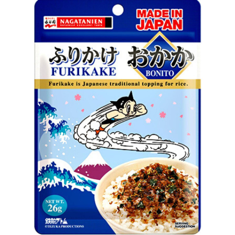 NAGATANIEN FURIKAKE OKAKA 0.91 OZ SIN COLOR condimento de mariscos
