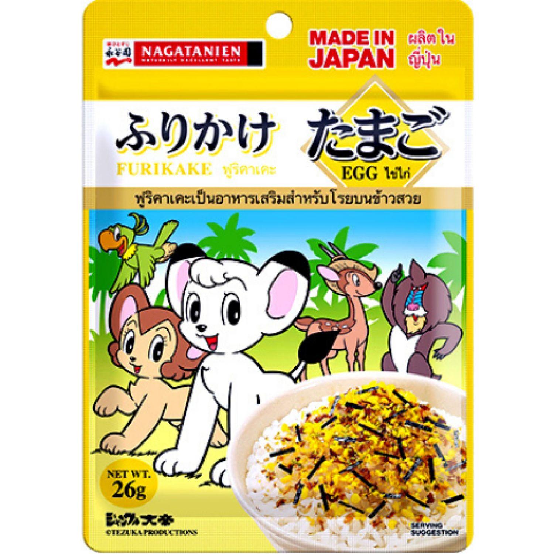 NAGATANIEN Furikake Tamago  0.91 Oz SIN COLOR Condimento para mariscos