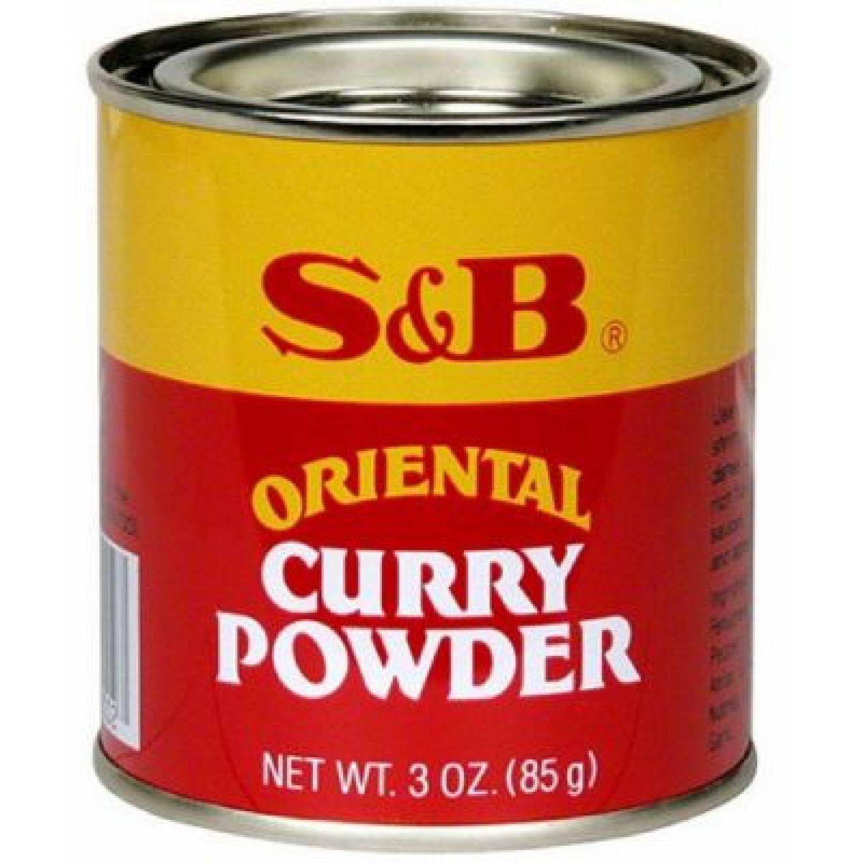 S&B S&b Curry Powder 3 Oz SIN COLOR Salsa de curry