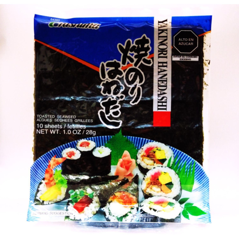 URASHIMA URA YAKINORI HANEDASHI X 10 HJS. SIN COLOR Secado de algas marinas y Nori