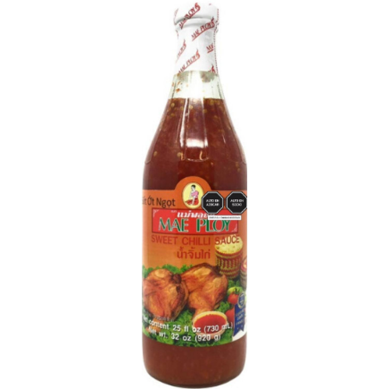 MAE PLOY Sweet Chili Sauce Mae Ploy 730ml. SIN COLOR Salsa picante