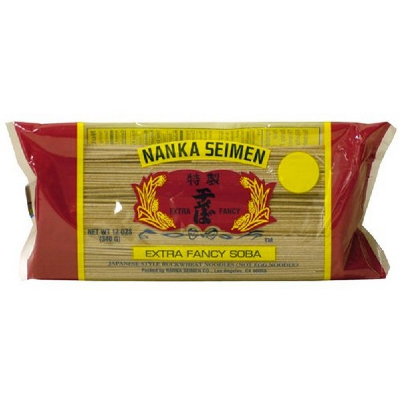 NANKA Nanka Seimen Hoshi Soba 12 Oz. (340 Gr) SIN COLOR Fideos soba