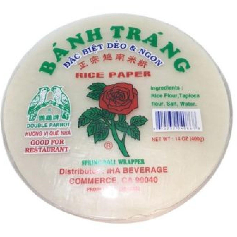 BANH TRANG Spring Roll Rice Paper 14oz (22cm.) SIN COLOR Tinta y papel de impresora comestibles