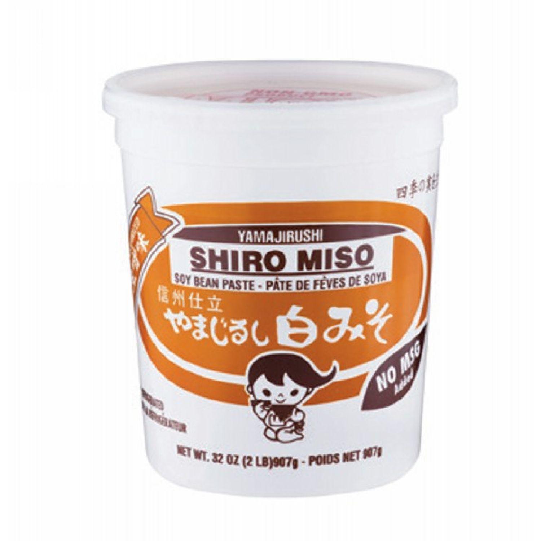 YAMAJIRUSHI Yamajirushi Shiro Miso 32 Oz (907 Gr.) SIN COLOR Soja y no lácteos