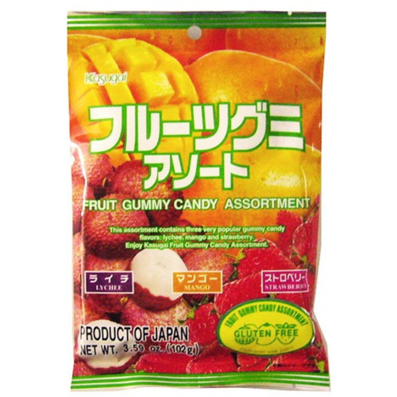 KASUGAI Kasugai Gummy Candy Assorment SIN COLOR Gomitas