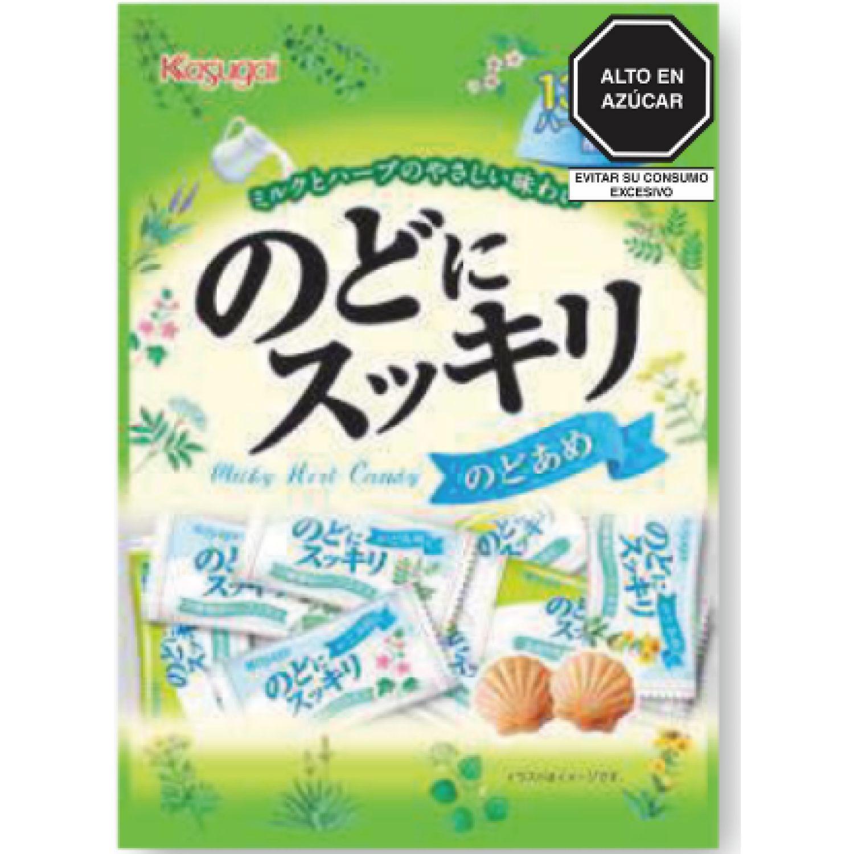 KASUGAI Nodo Ni Sukkiri 4.40 Oz SIN COLOR Caramelo duro