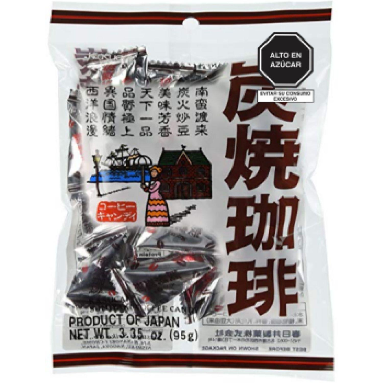 KASUGAI Kasugai Sumiyaki Coffee Candy 95g SIN COLOR Caramelo duro