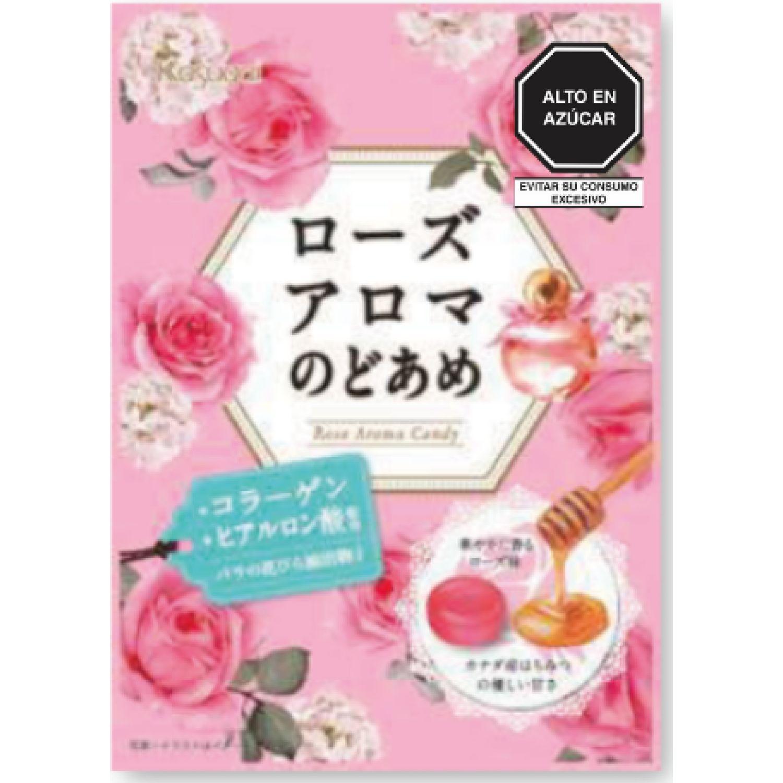KASUGAI Kasugai Rose Aroma Candy 3.17oz(90g) SIN COLOR Caramelo duro