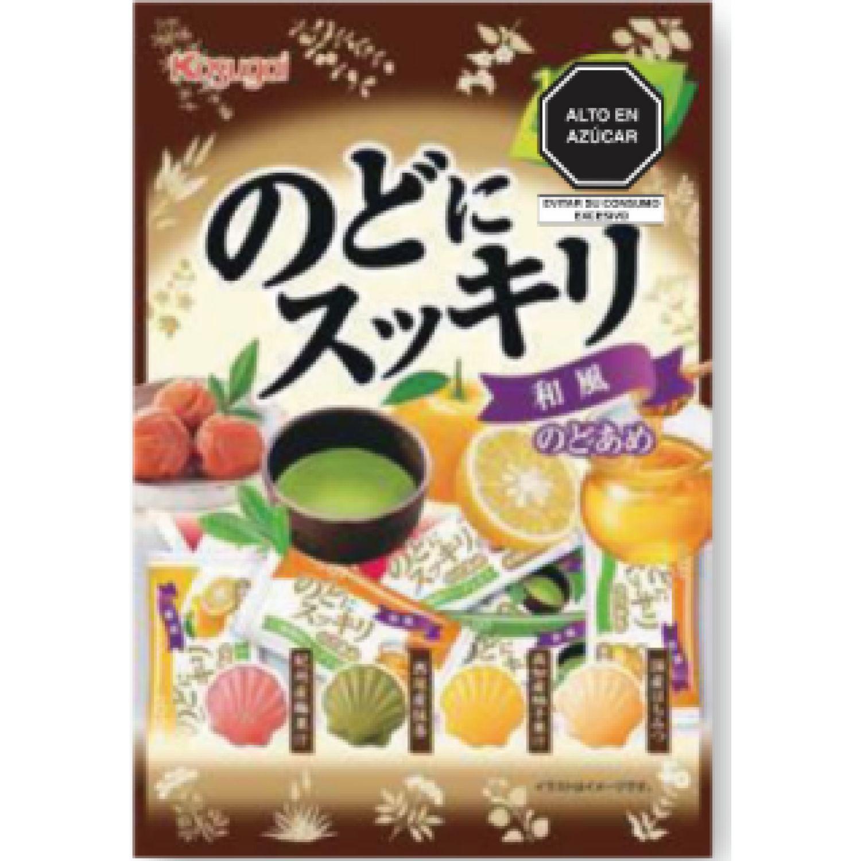 KASUGAI Wafu Nodo Ni Sukkiri   3.88 Oz (105g) SIN COLOR Caramelo duro