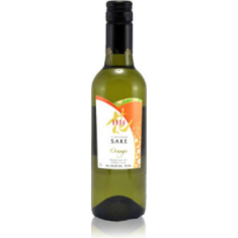 HANA SAKE HANA ORANGE x 375 ml SIN COLOR Licor de Arroz y Sake