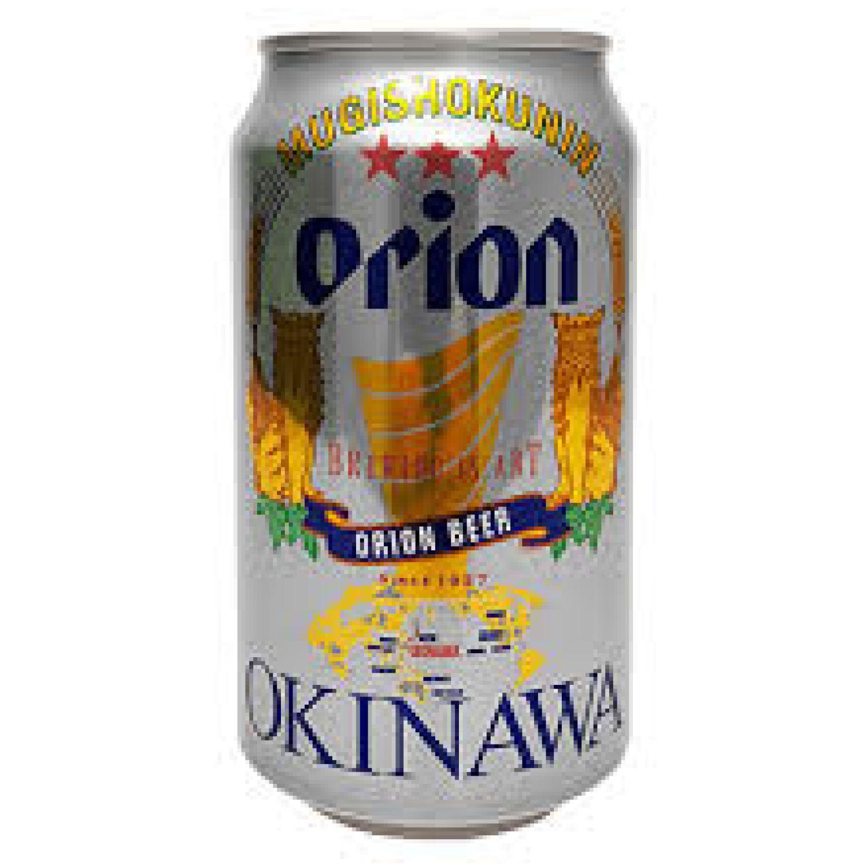 ORION CAN, ORION MUGI SHOKUNIN BEER 11.8floz (350ml) SIN COLOR Cerveza