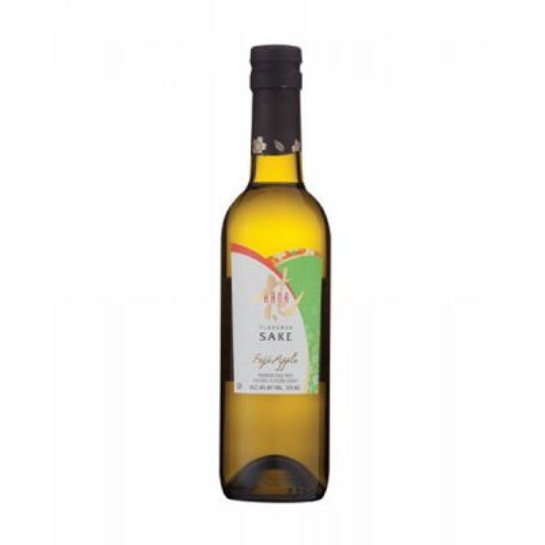HANA Sake Fuji Apple 375 Ml SIN COLOR Licor de Arroz y Sake