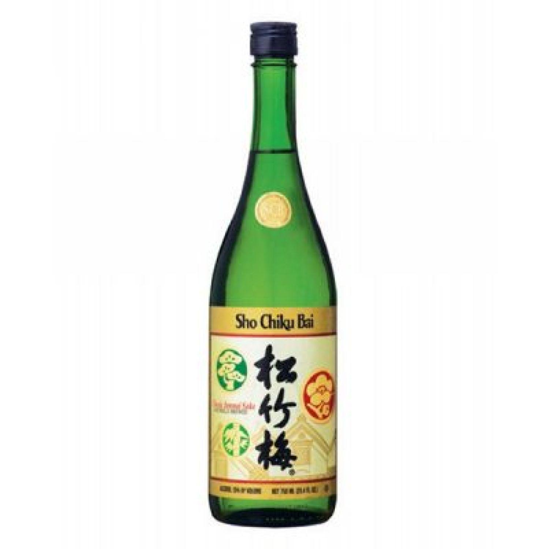 SHO CHIKU BAI Sake Scb Junmai Classic W/Nobox X750 Ml SIN COLOR Sake y Licor de Arroz