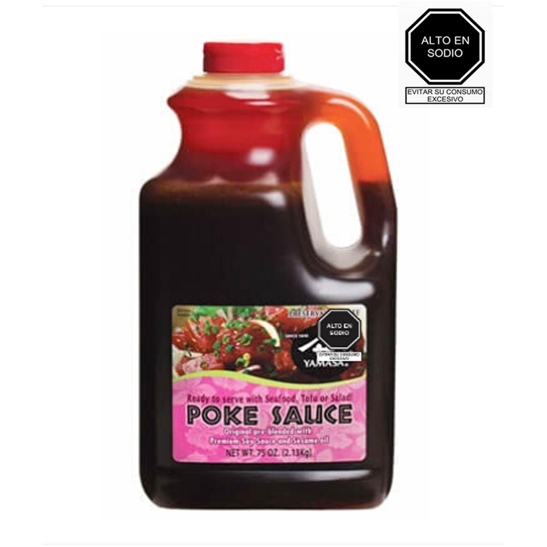 YAMASA Yamasa Poke Sauce 2.13kg. SIN COLOR Salsa de soja
