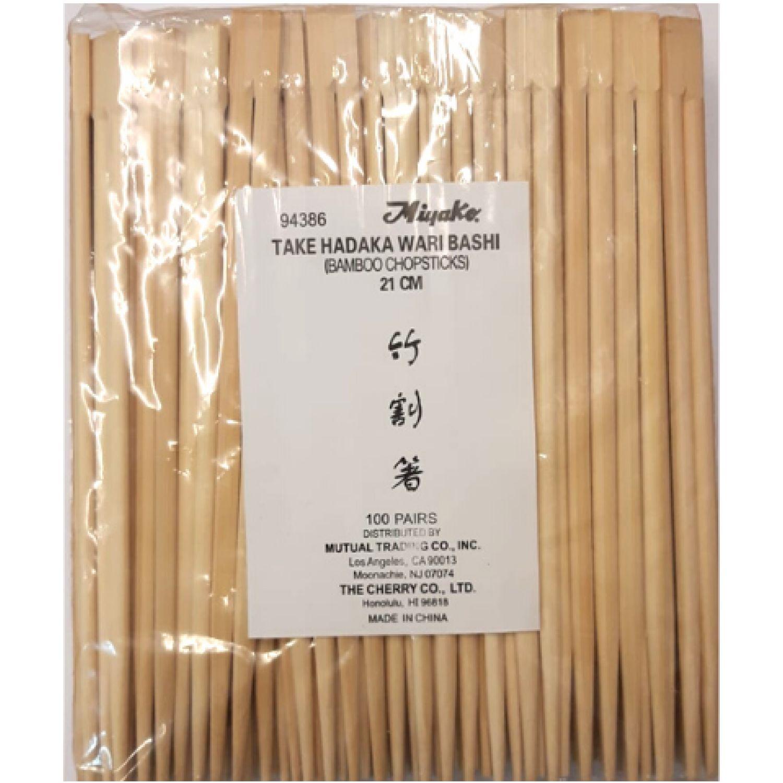 MENAJE Take Hadaka (Chopstick) 21 Cm X 100 SIN COLOR Palillos y Sujetadores de Palillos