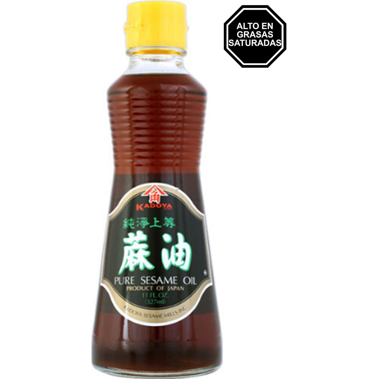 KADOYA Kadoya Sesame Oil 22.1 Flz SIN COLOR Sésamo